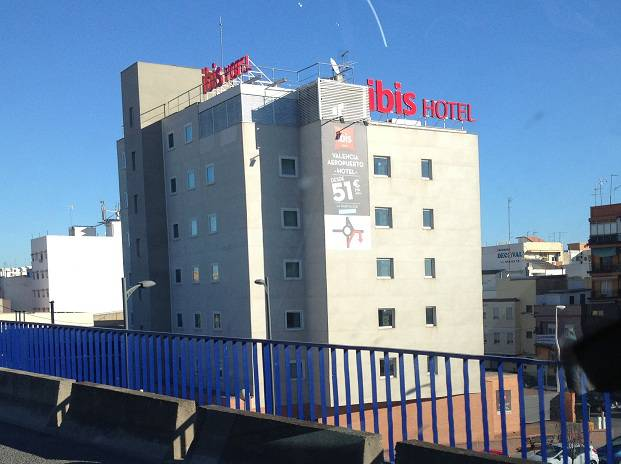 Hotel Ibis at Valencia Airport