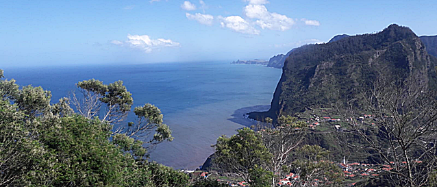 Rugged Madeira costal scenery